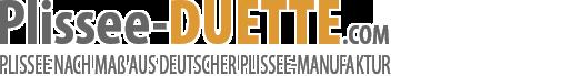 plissee-duette.com Logo