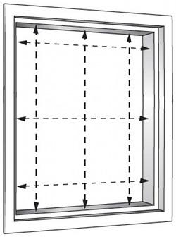 grunds tze beim messen rechteckiger fenster. Black Bedroom Furniture Sets. Home Design Ideas