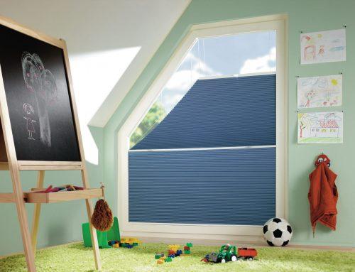 Aufmontage für Eckfenster und rechteckige Senkrechtfenster