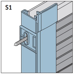 S1 - Seitenführungsschienen 90°/96° Preis 29,92 €